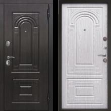 Входная дверь Флоренция Винорит (венге темный, беленый дуб) - 20770 руб.