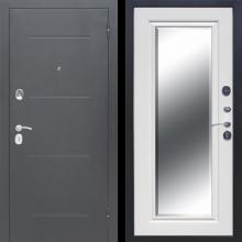 Входная дверь 7,5 см ГАРДА Серебро Зеркало Фацет (венге, белый ясень) - 15200 руб.