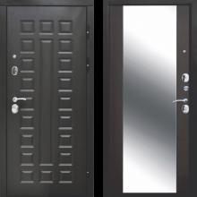 Входная дверь 12 м Сенатор Зеркало (венге, белый ясень) - 23100 руб.