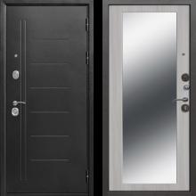 Входная дверь 10 см ТРОЯ Серебро MAXI Зеркало (Венге, белый ясень) - 18900 руб.