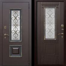 Входная дверь Венеция (венге, белый ясень) - 23170 руб.