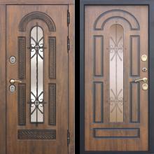 Входная дверь 13 см VITRA Винорит Патина (грецкий орех) - 45100 руб.