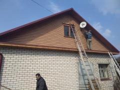 Отделка домов сайдингом в Кольчугино и Владимирской области